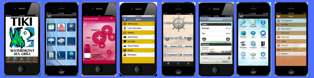 Sample business mobile applications